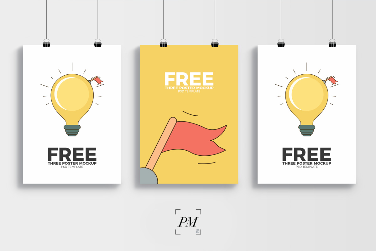 3-Creative-Display-PSD-Template-Poster-Mockup-600