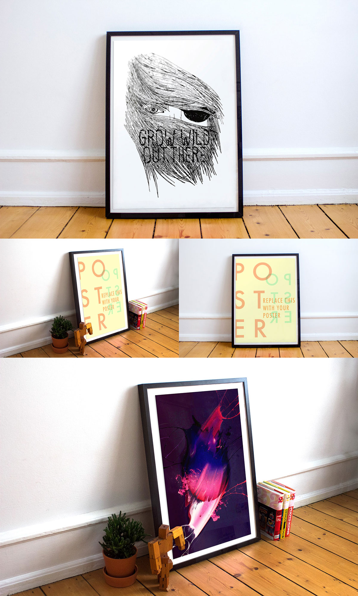 Frame-Poster-Mockup-With-Two-Different-Angles-600