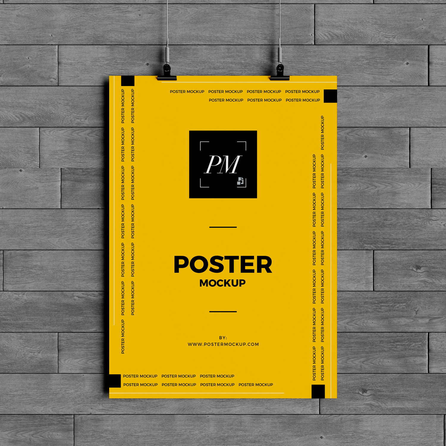 Free-Hanging-Over-Wall-Poster-Mockup-PSD-600