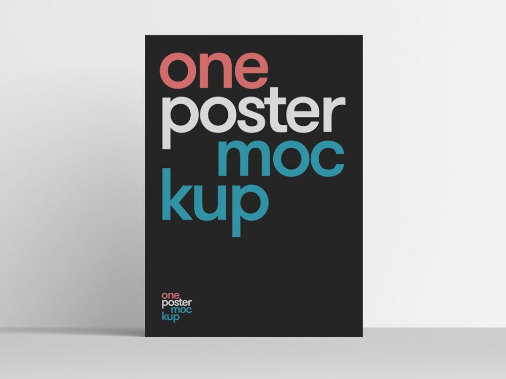 Free-Clean-Poster-Mockup-PSD-700