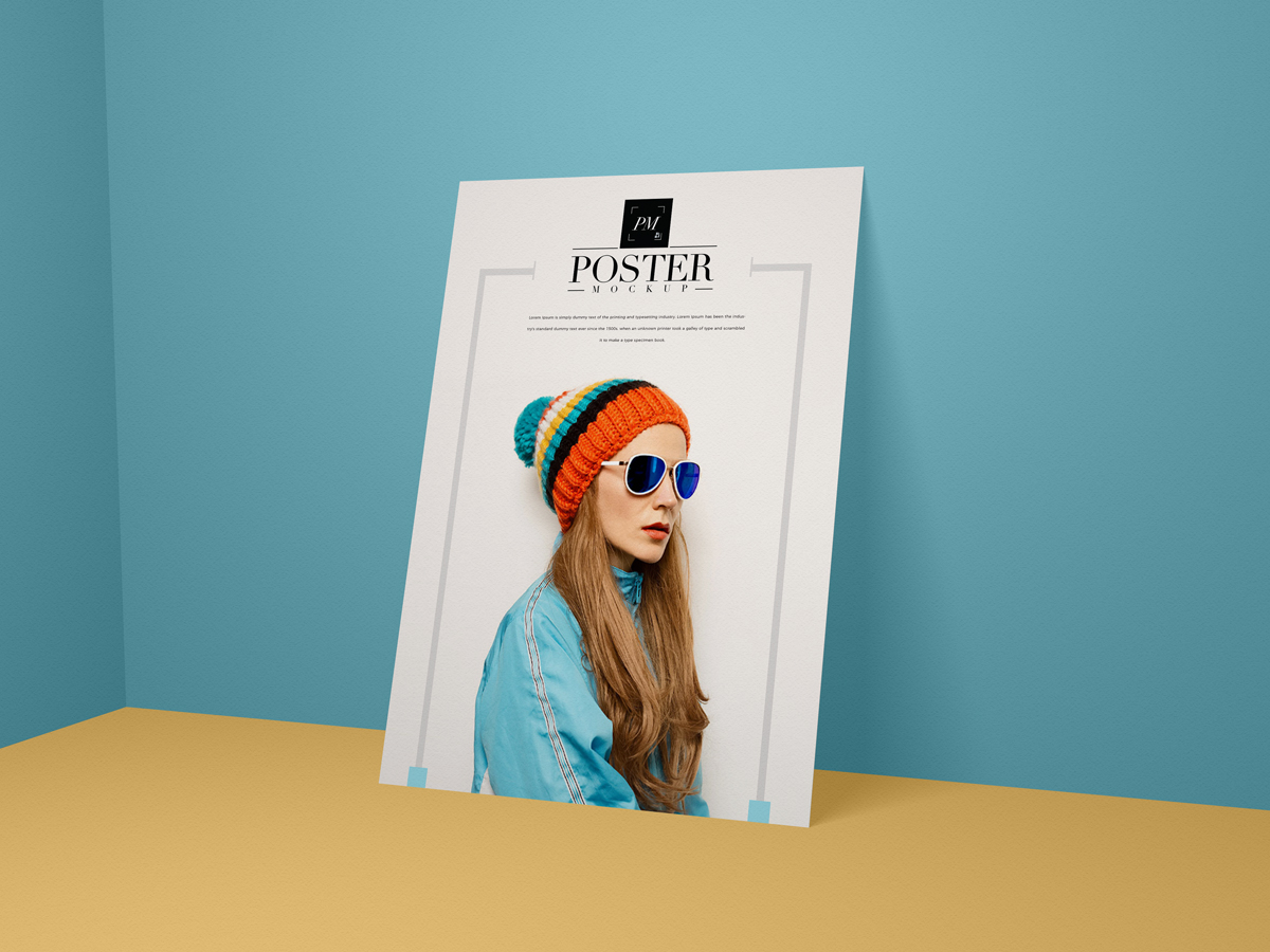 Free-Modern-PSD-Poster-Mockup-Perfect-For-Branding
