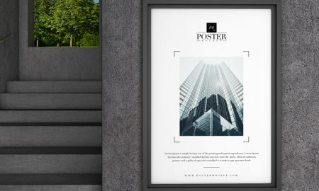 Free-Industrial-Interior-Concrete-Wall-Poster-Mockup-PSD
