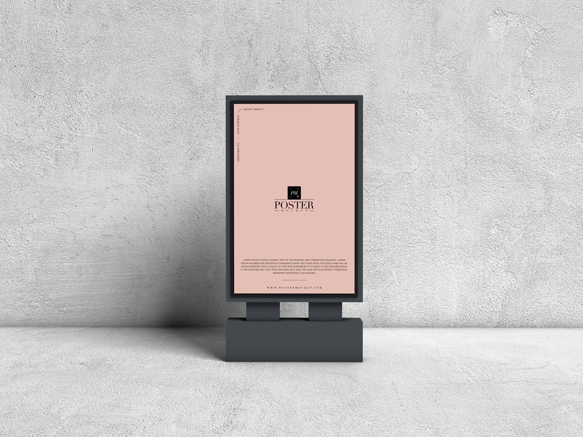 Free-Advertising-Billboard-Poster-Mockup-PSD-For-Presentation-2019