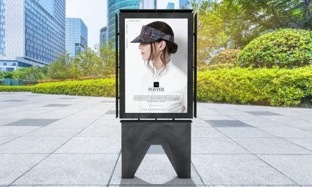 Free-Outdoor-Publicity-Poster-Mockup-PSD-For-Advertisement