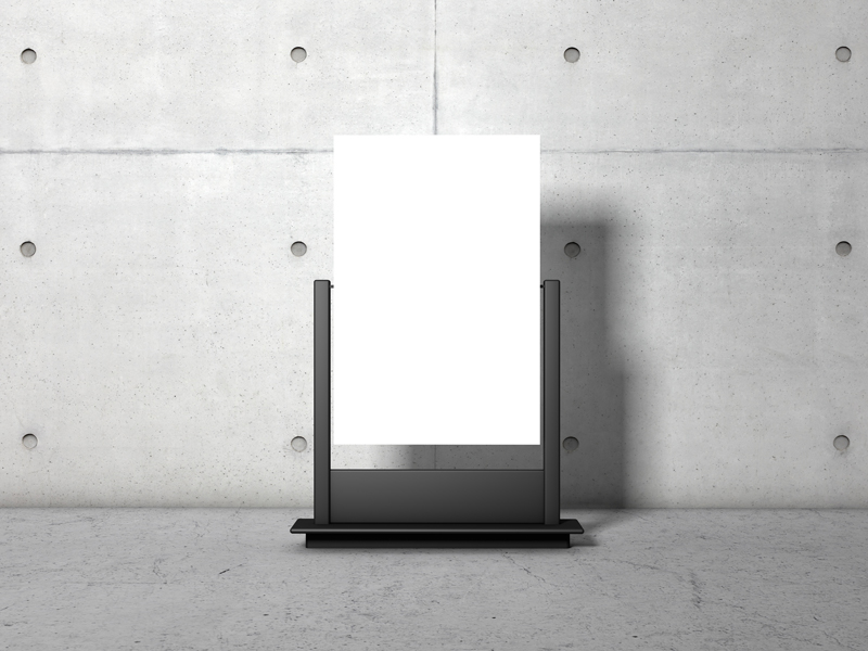 Advertising-Stand-PSD-Poster-Mockup