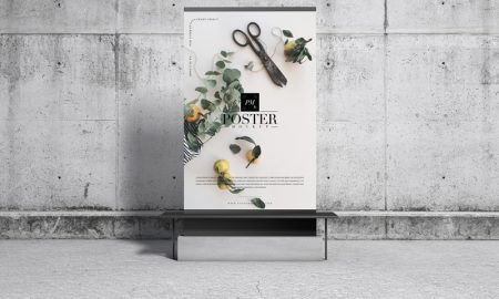 Free-Concrete-Environment-Display-Poster-Mockup