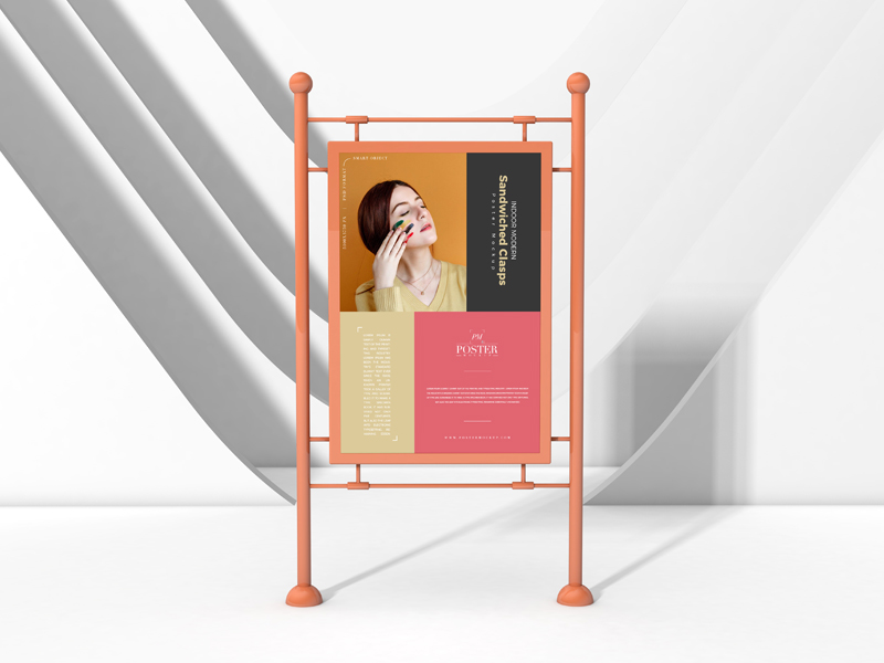 Indoor-Modern-Sandwiched-Clasps-Poster-Mockup