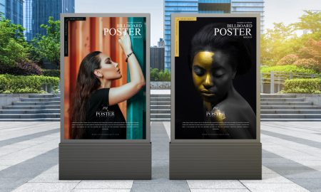 Free-Modern-Outdoor-Billboard-Poster-Mockup-For-Advertisement