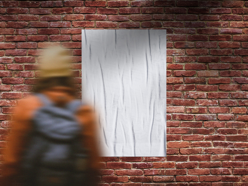 Outdoor-Girl-Looking-Bricks-Wall-Poster-Mockup-1