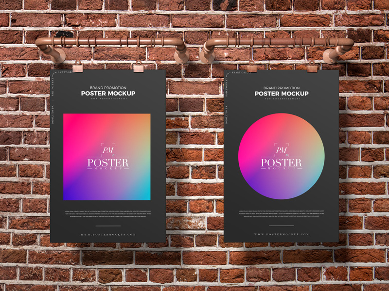 Free-Brand-Promotion-Poster-Mockup