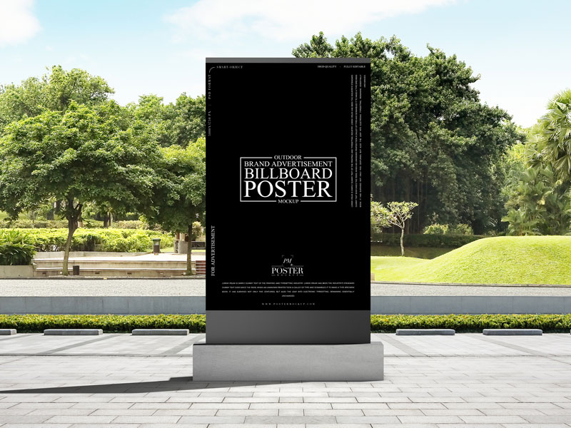 Free-Outdoor-Brand-Advertisement-Billboard-Poster-Mockup-1