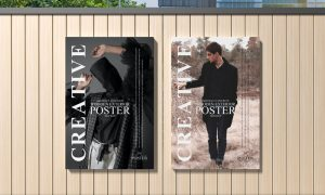 Abstract-Concrete-Wooden-Exterior-Poster-Mockup