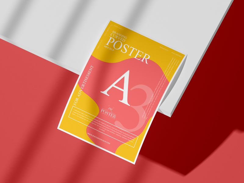 Branding-A3-Curved-Poster-Mockup-1