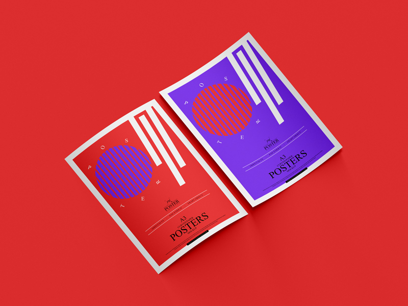 A3-Curved-Paper-Posters-Mockup-For-Branding