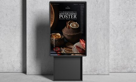 Billboard-Stand-Advertising-Poster-Mockup