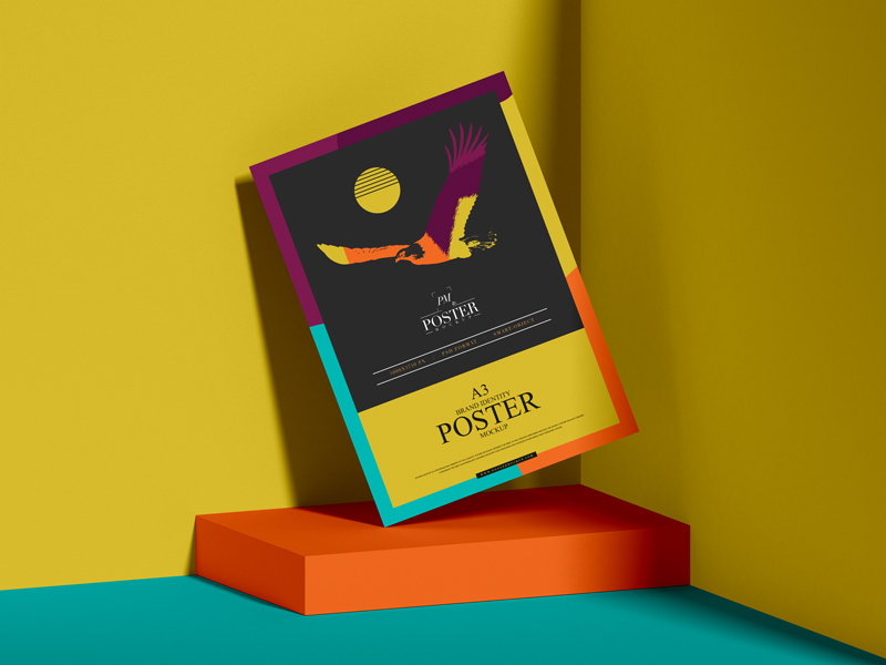 Brand-Identity-A3-Paper-Poster-Mockup-Free