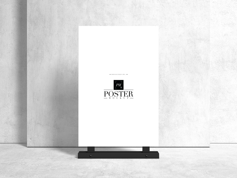 Advertising-Stand-24x36-Sign-Poster-Mockup-1