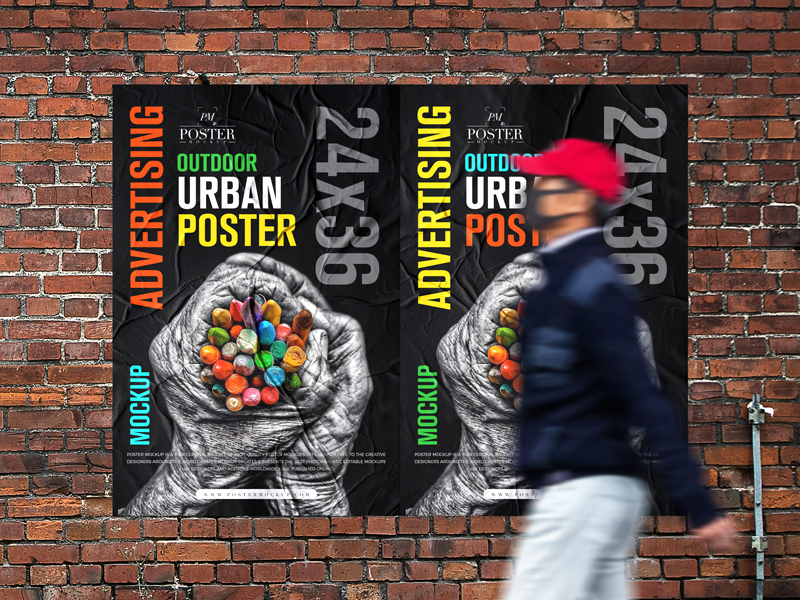 Outdoor-Advertising-24x36-Urban-Poster-Mockup