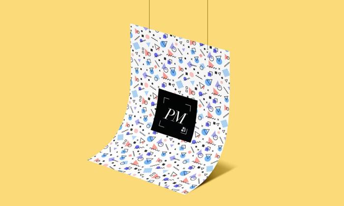Hanging-Poster-Mockup-PSD-For-Branding-Presentation-300