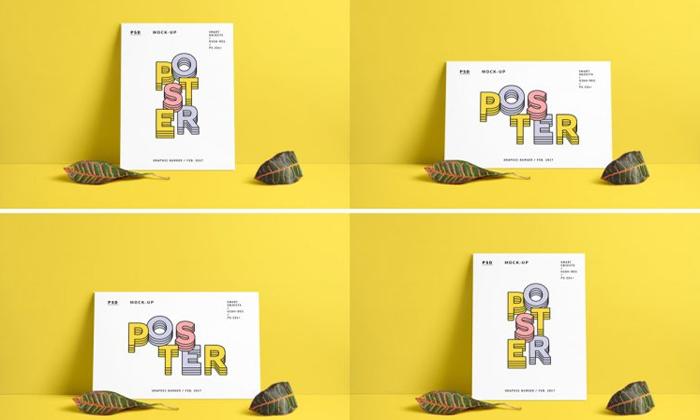 Portrait-Landscape-Poster-MockUp-PSD-300