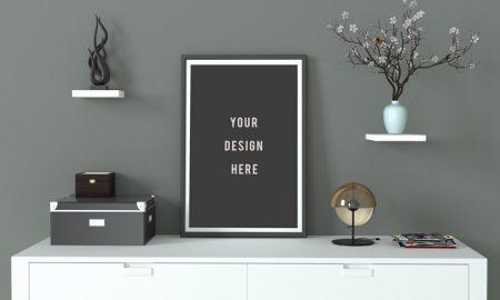 Free-Minimal-Frame-Poster-Mockup-700