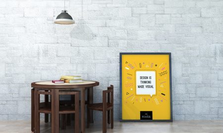 Free-Gallery-Furniture-With-Poster-Mockup-PSD-on-Wooden-Floor