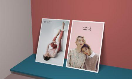 Free-Modern-Branding-Vertical-Standing-Posters-Mockup-PSD-Template