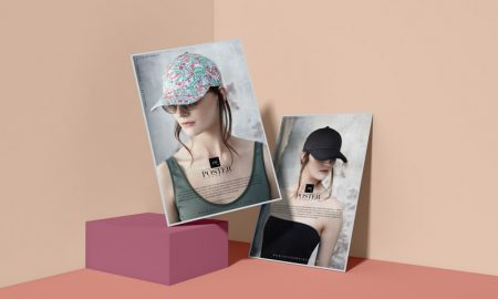Free-Modern-Brand-Advertising-Poster-Mockup-Template