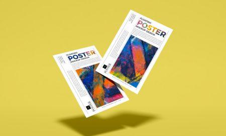 Free-Floating-Elegant-PSD-Poster-Mockup-Design