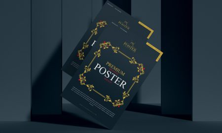 Free-Premium-Branding-Poster-Mockup