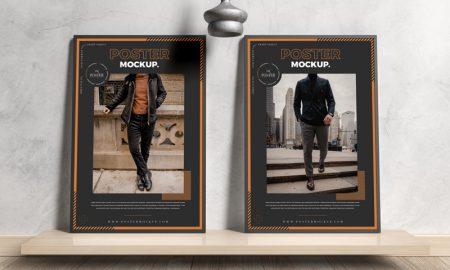 Modern-Interior-Framed-Posters-Mockup