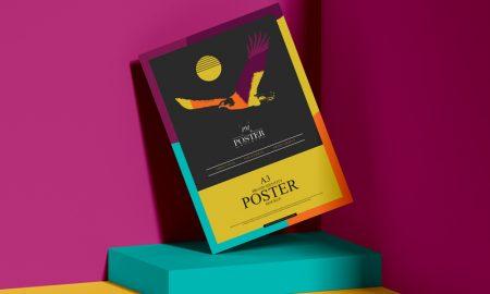 Brand-Identity-A3-Paper-Poster-Mockup