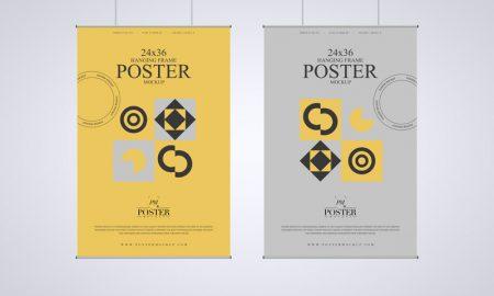Hanging-Frame-24x36-Poster-Mockup