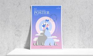 Premium-Branding-A3-Poster-Mockup