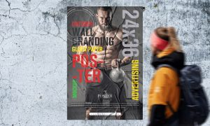 Outdoor-Wall-Branding-24x36-Glued-Paper-Poster-Mockup