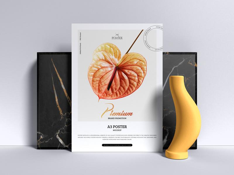 Premium-Brand-Promotion-A3-Poster-Mockup